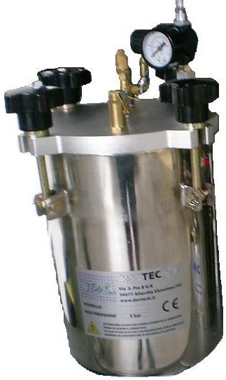 Pressure Pot 2 Litre Tank Ts2220 Pneumatic Adhesive Dispensing