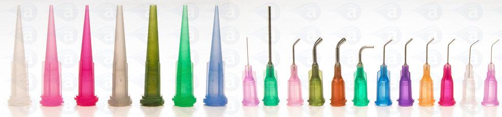Adhesive Dispensing Luer Lock dispenser Tips Nozzles Needle